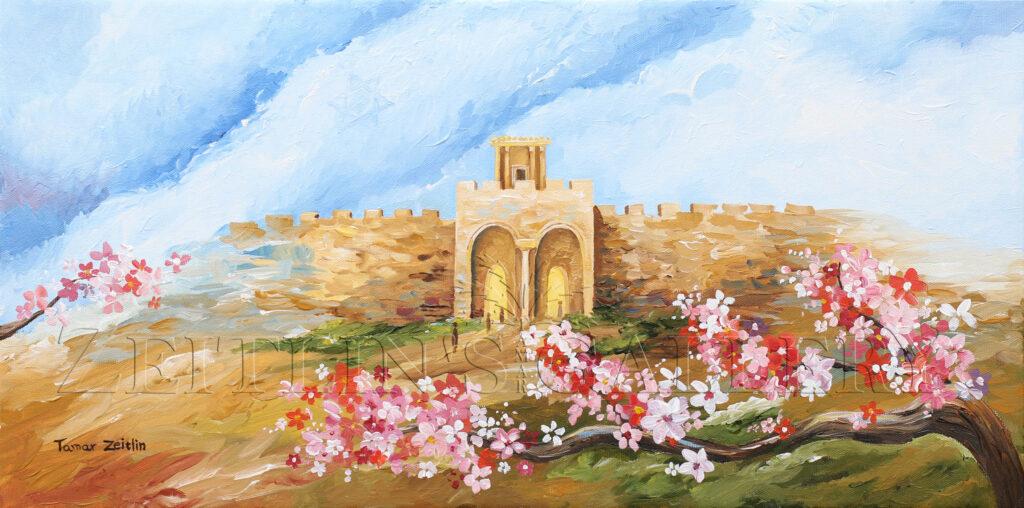 ציור שער הרחמים