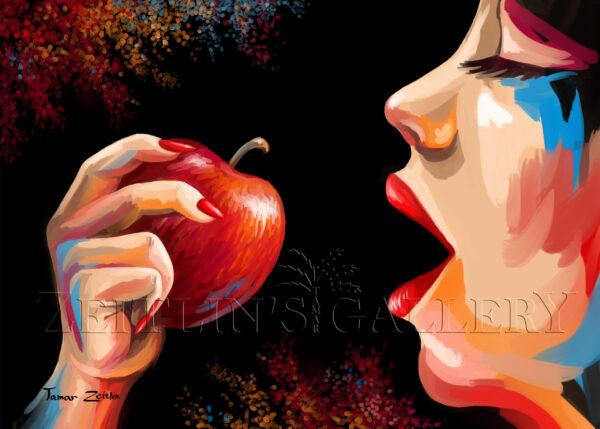 ציור חטא התפוח