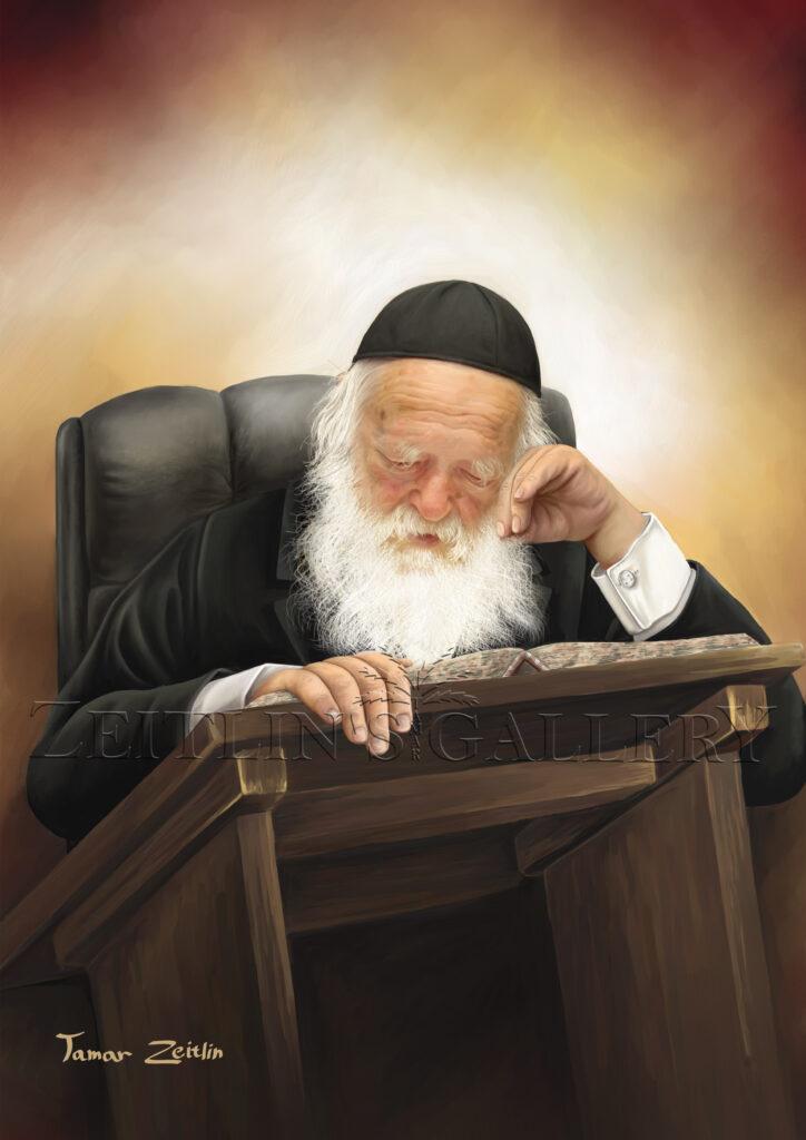ציור הרב קנייבסקי