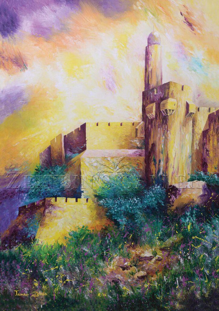ציור ירושלים של אור