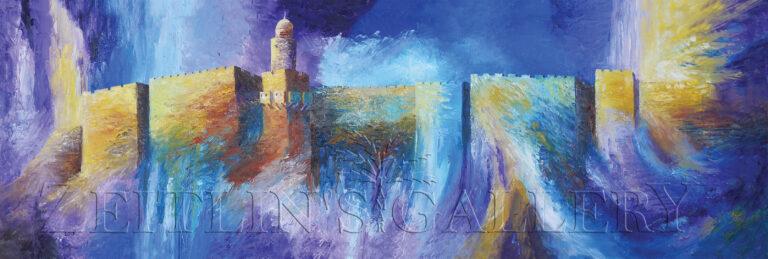 ציור ירושלים של זהב