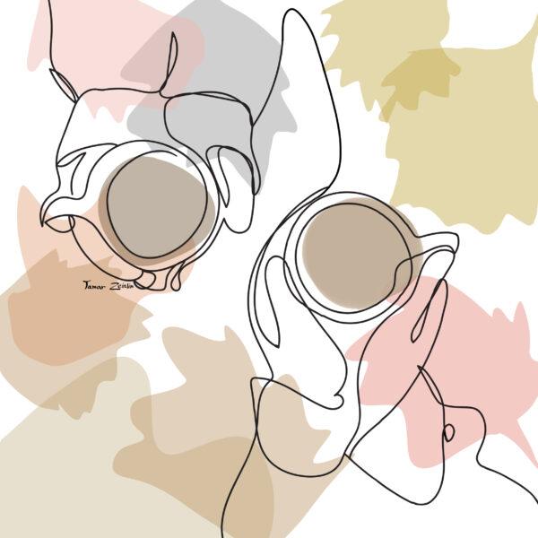 ציורי קפה