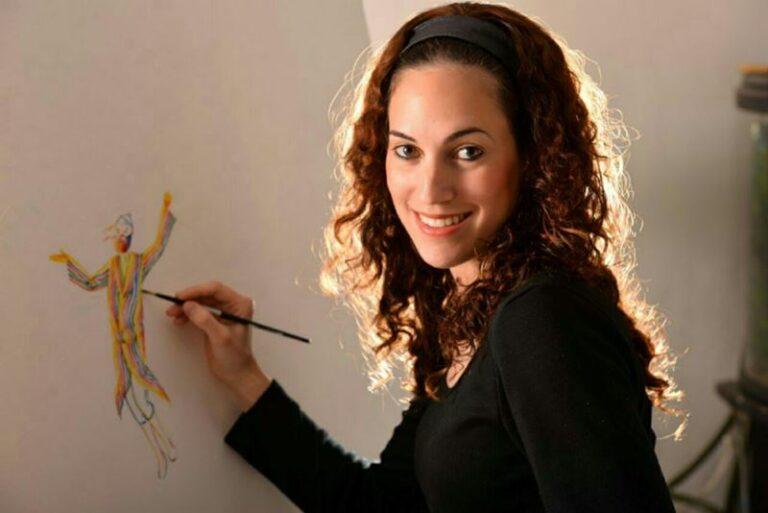 תמר צייטלין ציירת 2017
