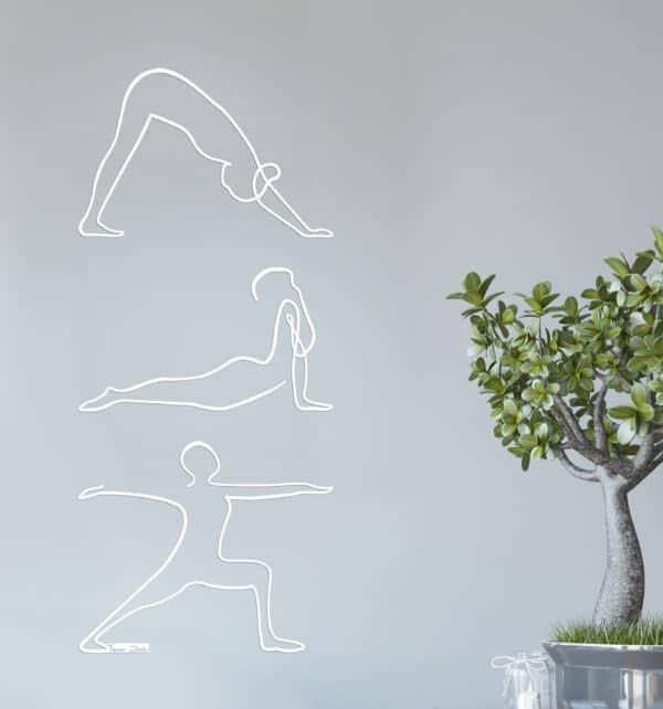 תנוחות יוגה מתכת